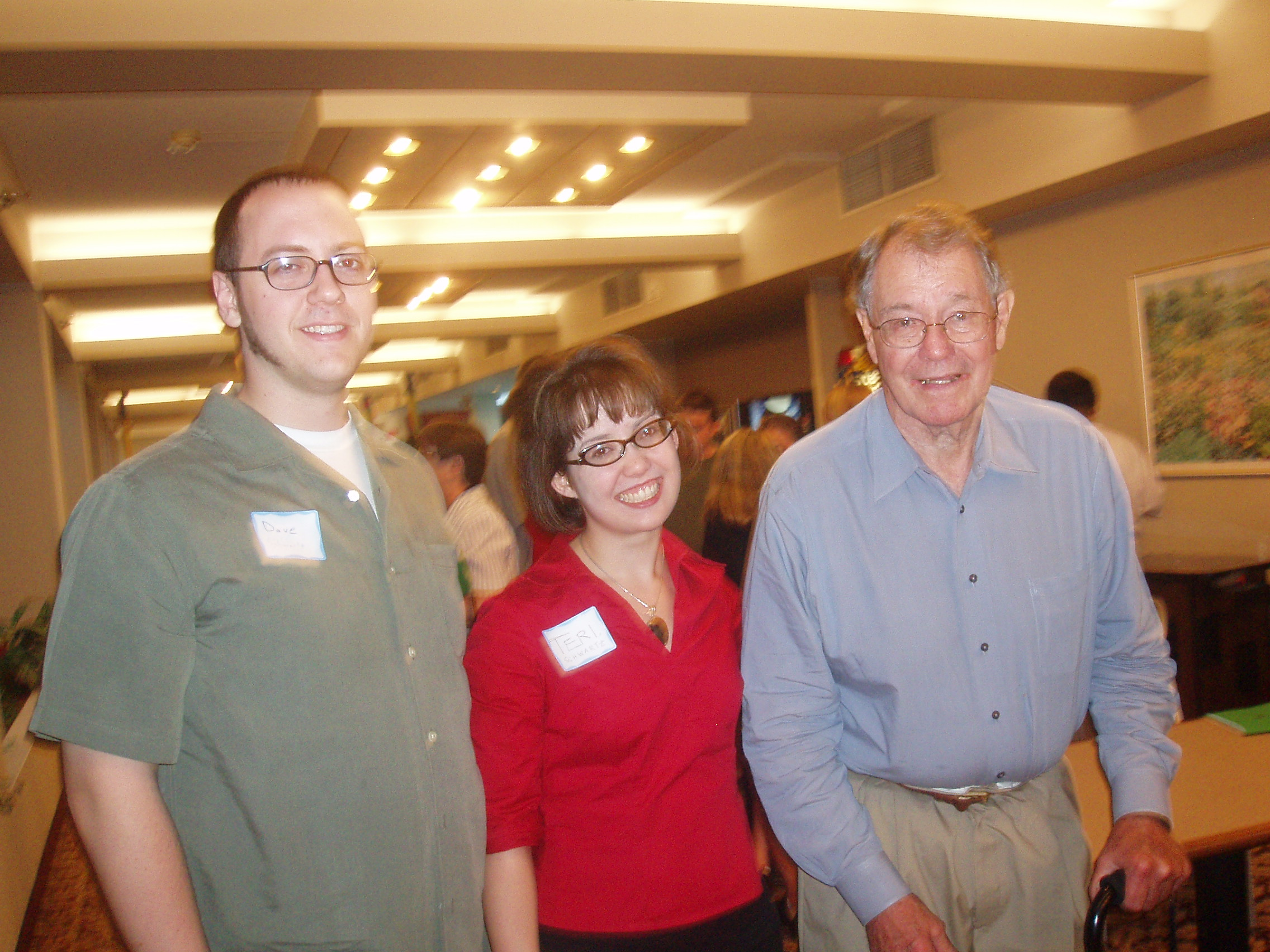 Dave & Teri Schwartz & Dr Stickler