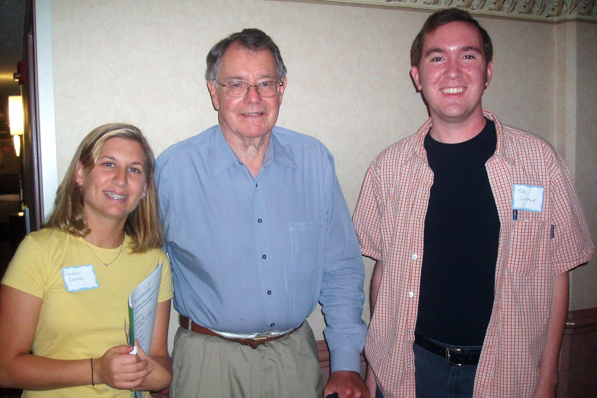 Heather & Mike Cermak & Dr Stickler