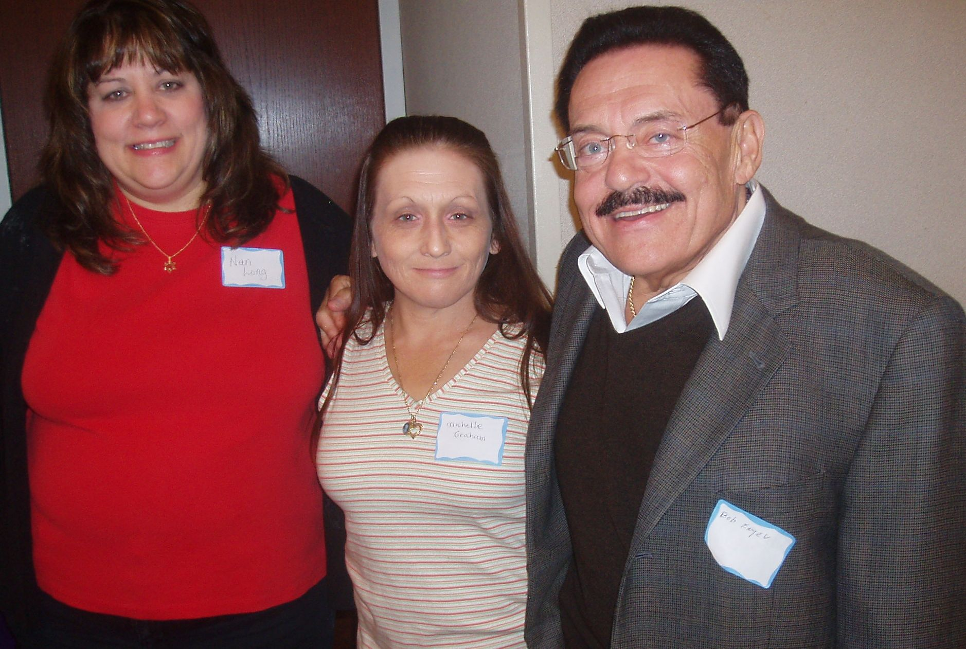 Nan Long, Michelle Graham & Bob Engel