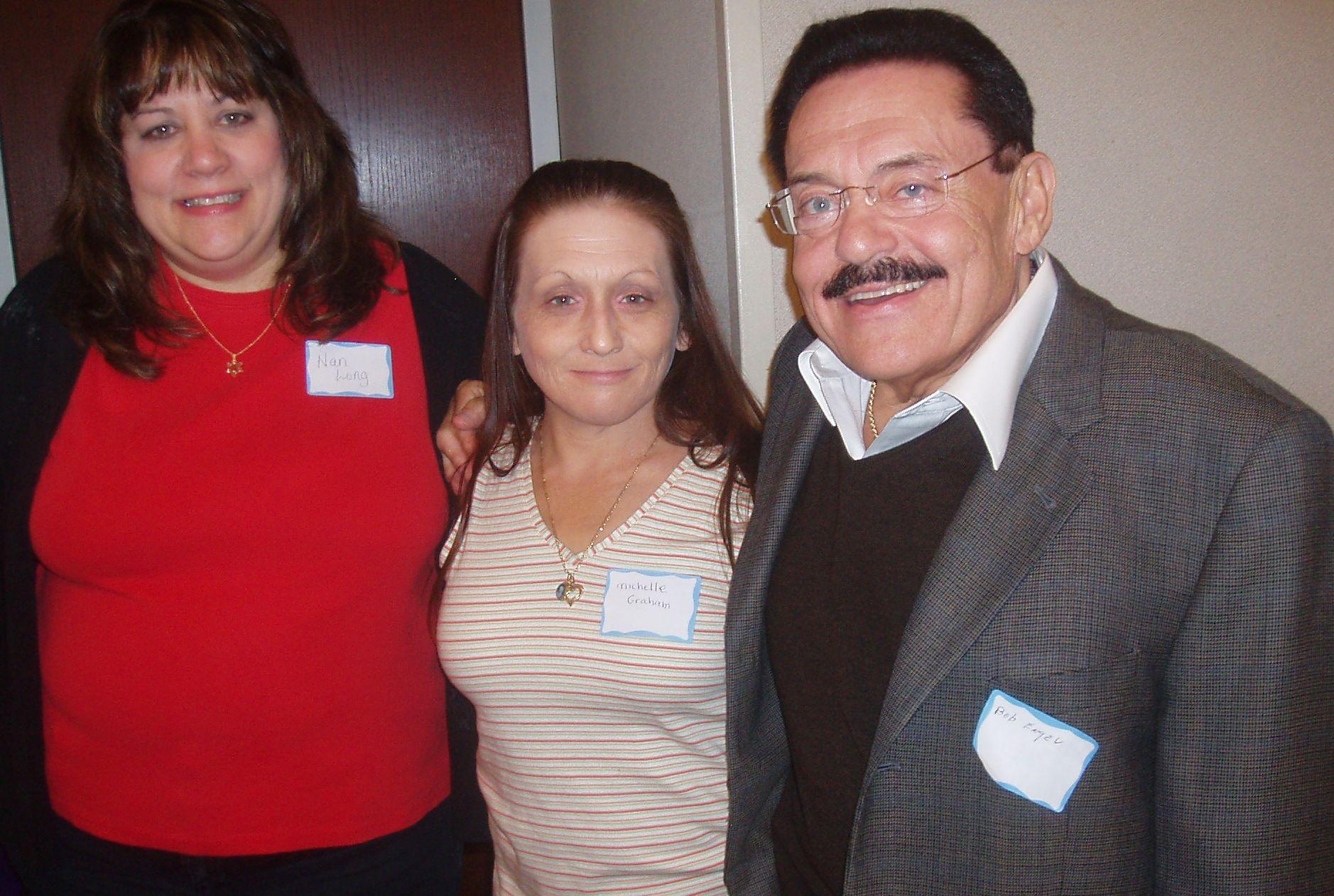 Nan Long, Michelle Graham & Bob Engel