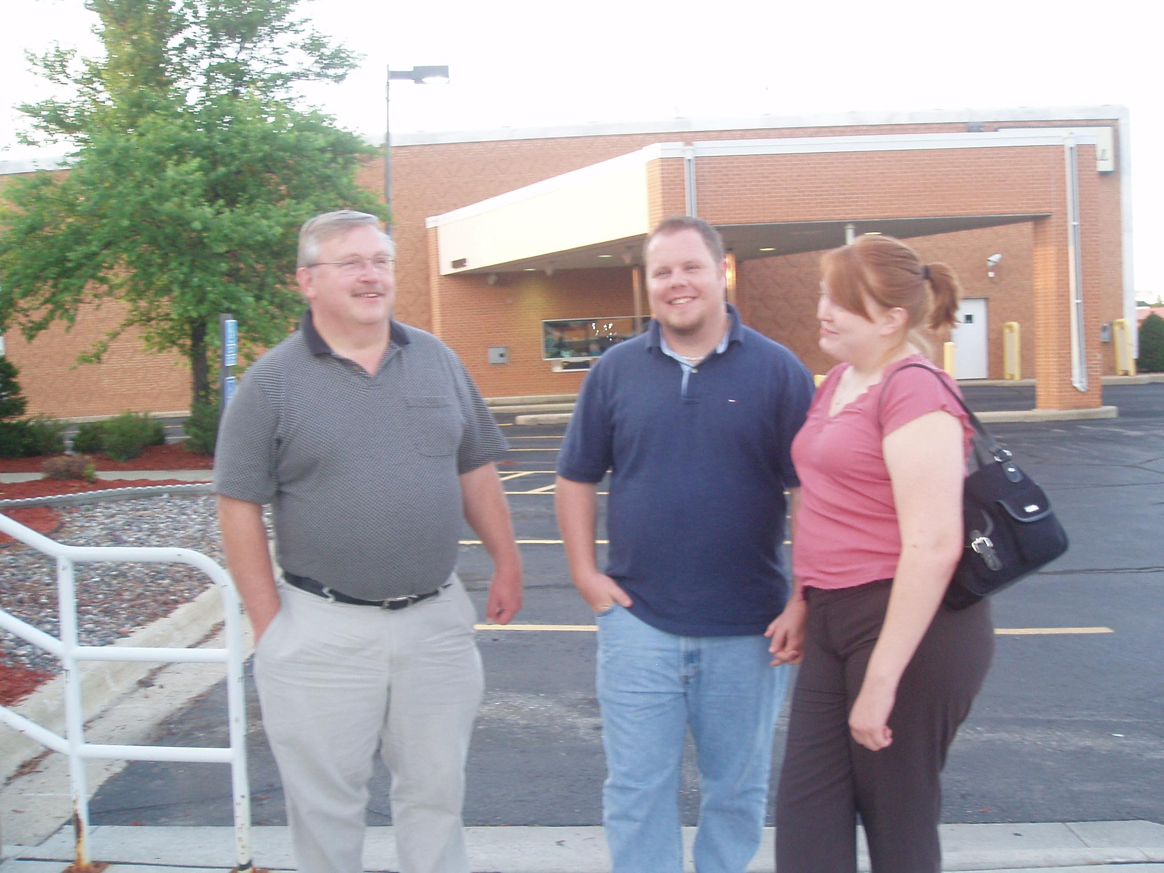 Bill Houchin, (Andrew) & Katie Houchin
