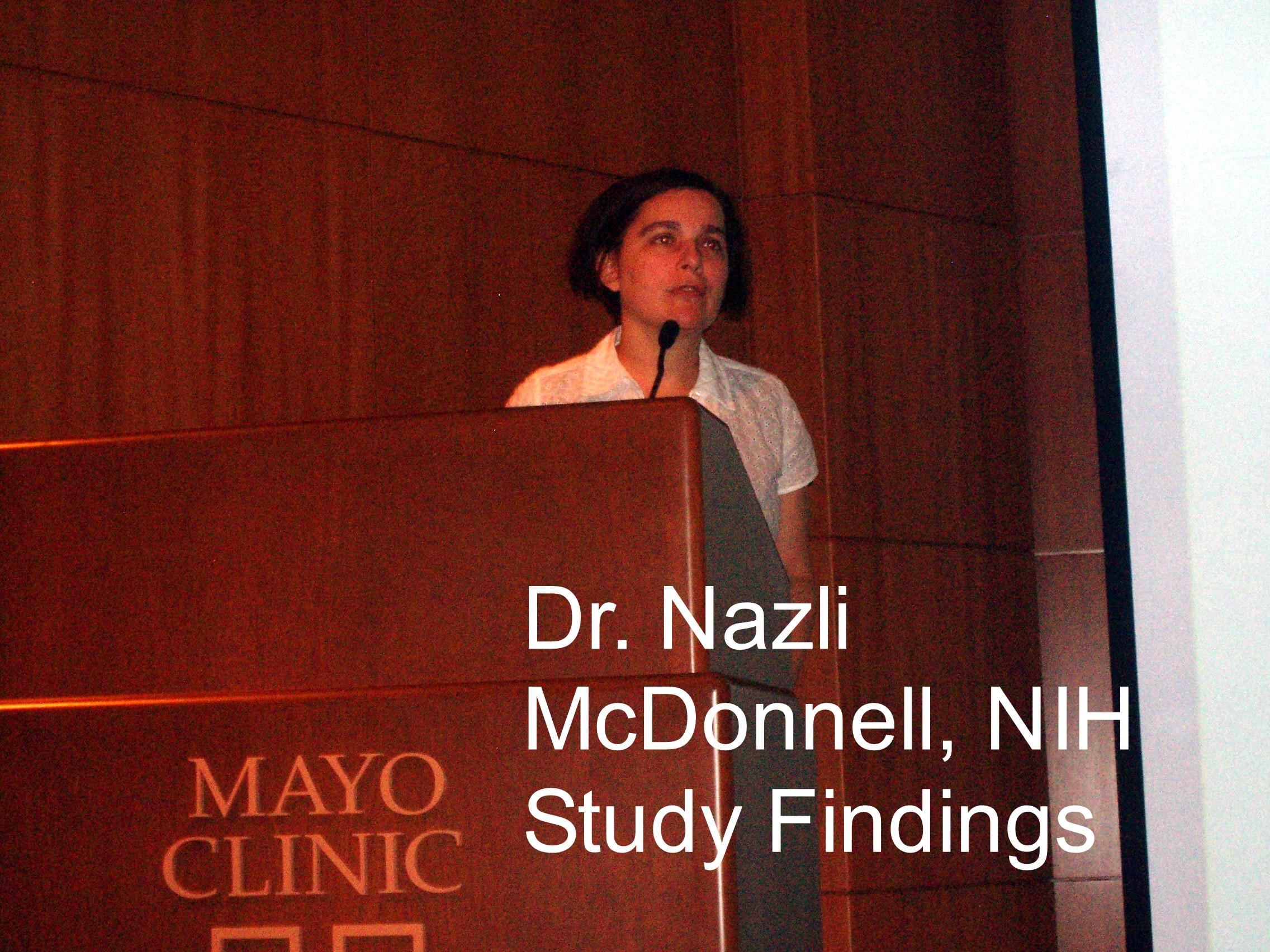 Dr. Nazli McDonnell-NIH/NIA