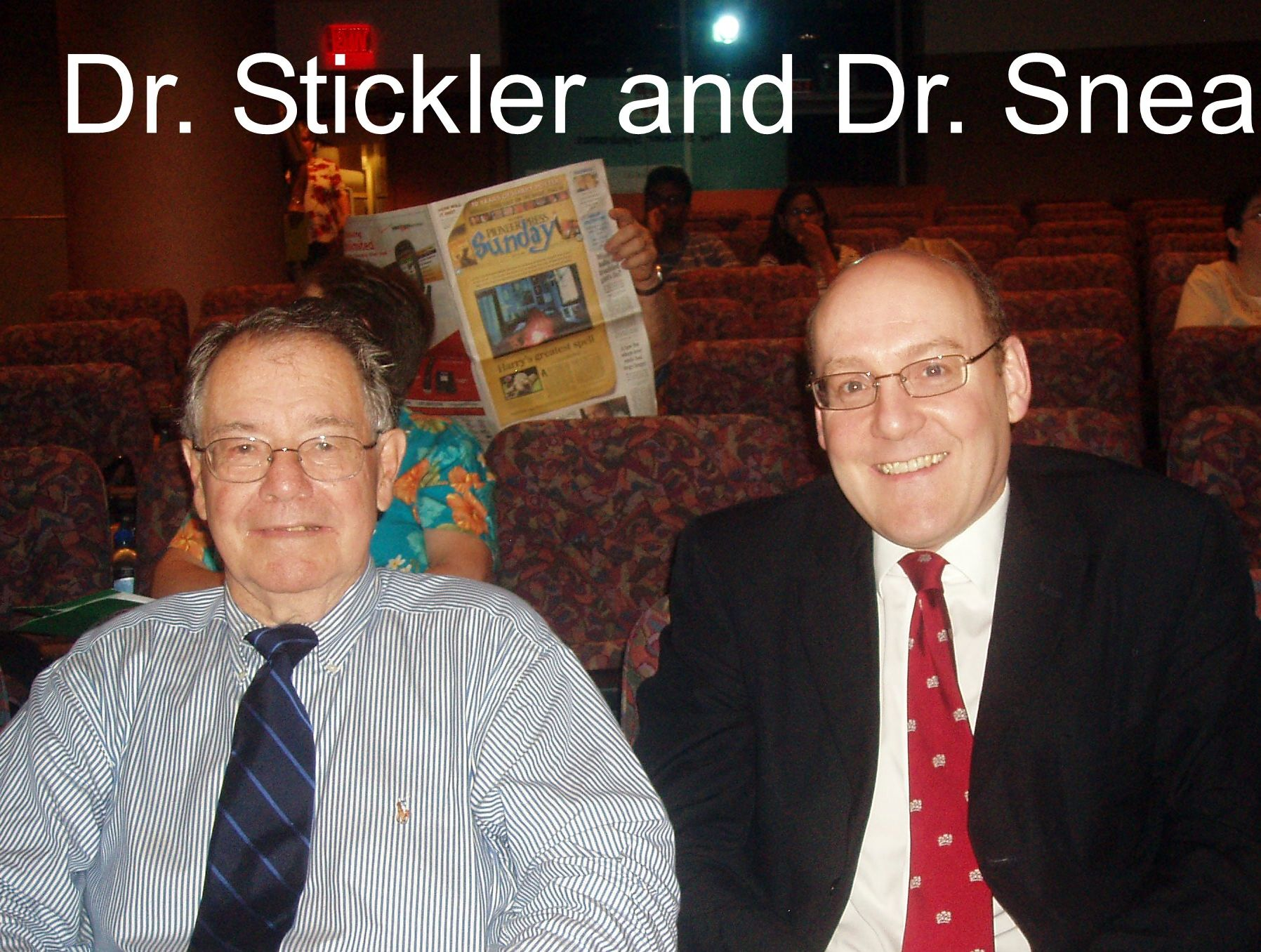 Dr Stickler & Dr Snead@Mayo Clinic