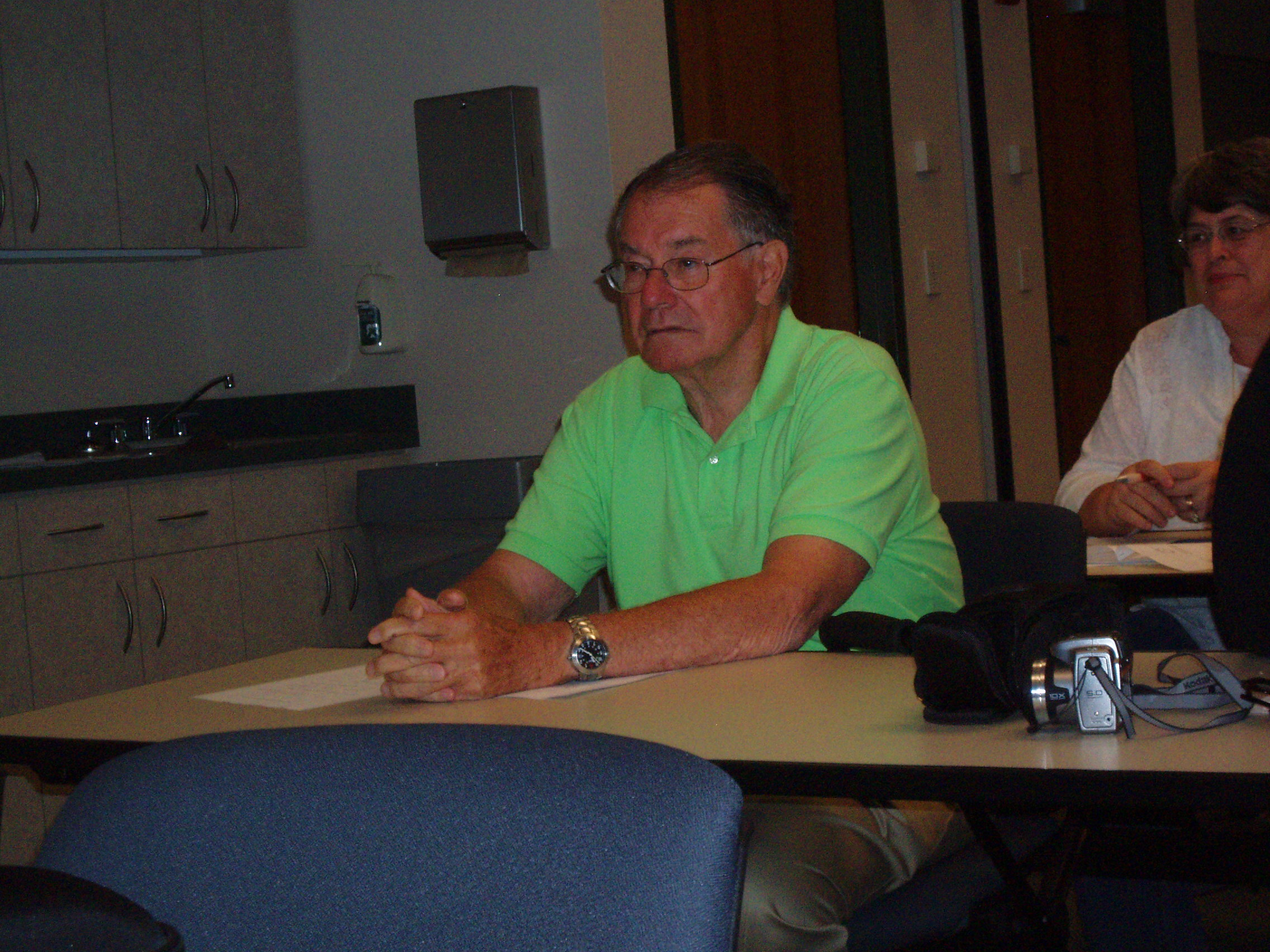 Dr. Gunnar Stickler, Omaha Conf